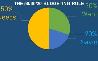 Budgeting using the 50/30/20 Rule
