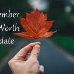 Fall is here: September 2020 Net Worth
