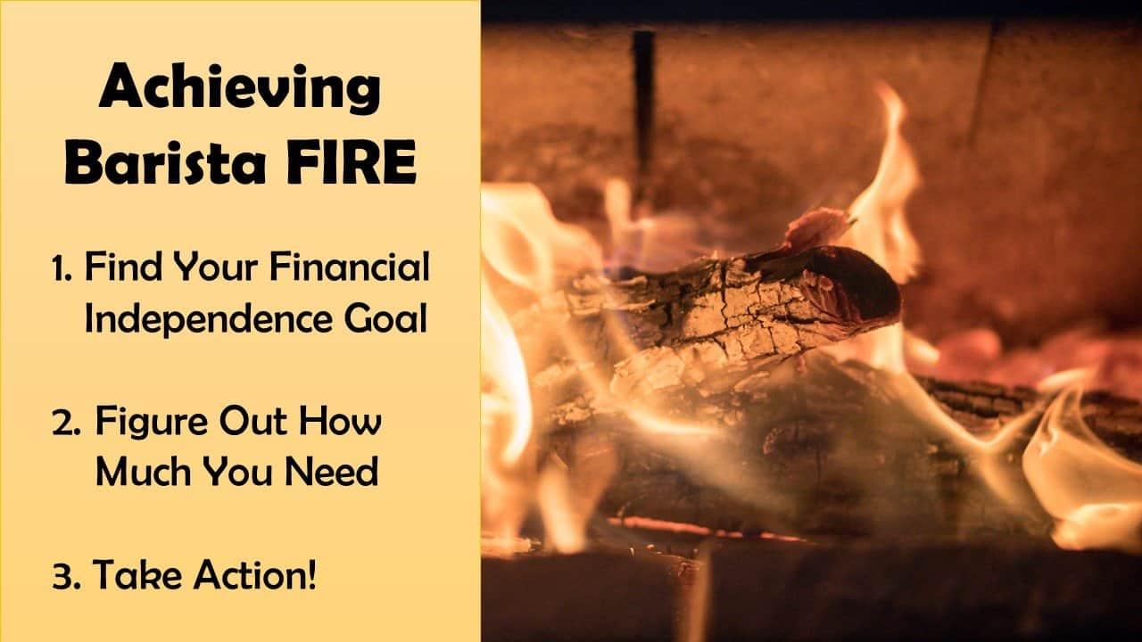 Achieving Barista FIRE